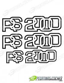 Escort MK2 RS2000