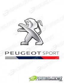 Peugeot Sport León bandera