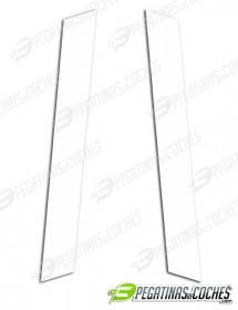 Líneas capot mini rectas