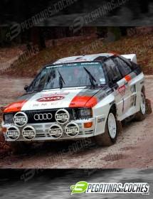 Audi Quattro H. Mikkola
