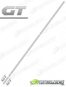 205 GT bandas laterales