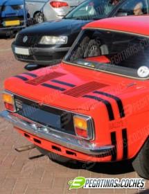 Simca 1000 Rallye 1 franjas