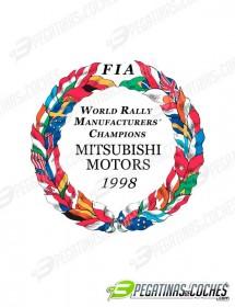 Escudo Mitsubishi Motors 1998