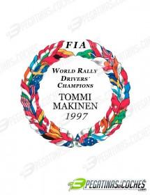 Escudo Tommi Makinen 1997