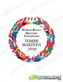 Escudo Tommi Makinen 1996