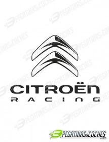 Logo Chevrones Citroen Racing