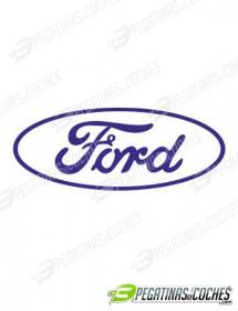Ovalo Ford negativo