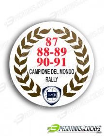 Escudo Campeón del mundo  87-88-89-90-91