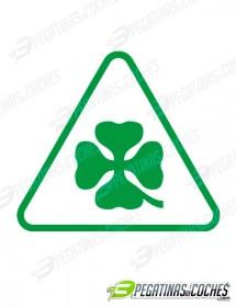 Triángulo Trébol Alfa