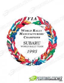 Escudo Subaru WRT1995