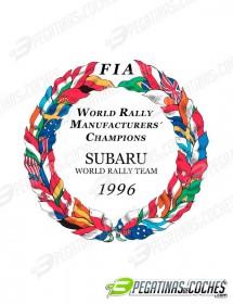 Escudo Subaru WRT 1996