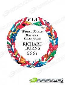 Escudo Richard Burns 2001