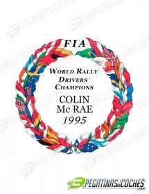 Escudo Colin McRae 1995