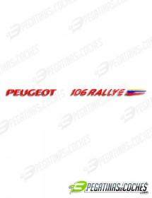 106 Rallye Fase II Portón