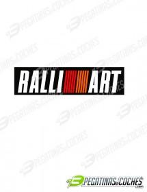 Ralliart paragolpes