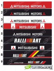 Parasol visera luna Mitsubishi