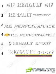 Visera Parasol corte Renault