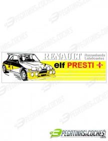 Renault Elf Presti CS