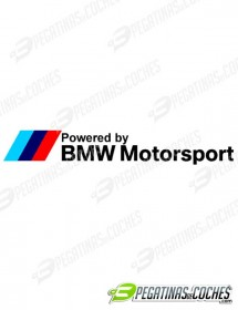 Powered By BMW Motorsport