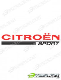 Logo Citroen Sport Color