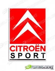 Logo Citroen Sport Vertical