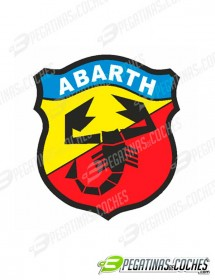 Escudo Abarth Color