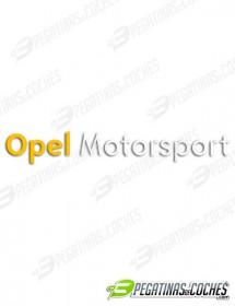 Logo Opel Motorsport 1