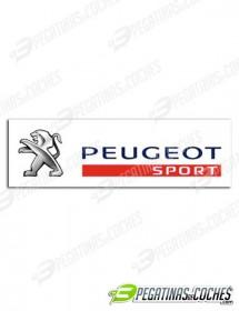 Peugeot Sport rectangular