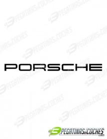 Letras Porsche