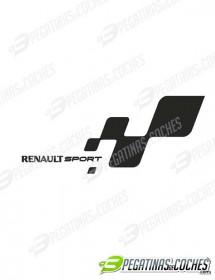 Bandera Renault Sport Izq.