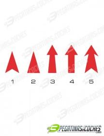 Flechas Remolque 1-5