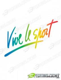 Vive Le Sport Degradado