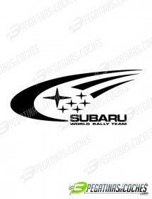 Subaru World Rally Team Logo