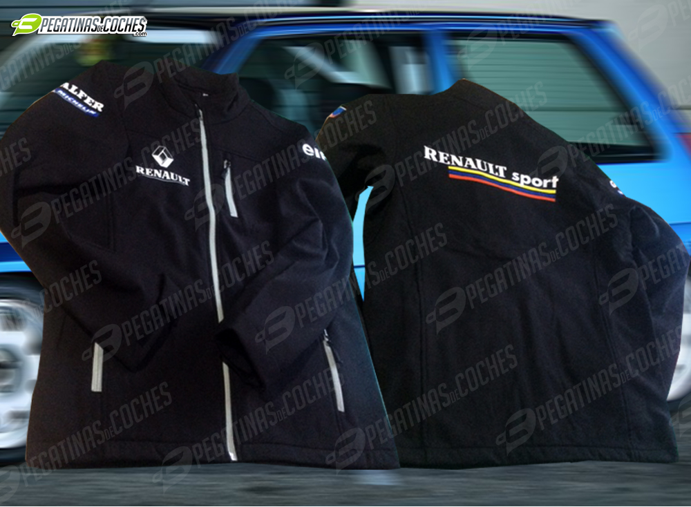 Nueva chaqueta Softshell de Renault Sport